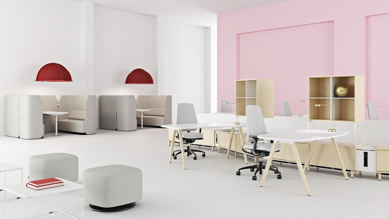 Kinnarps fabricant de mobilier de bureau