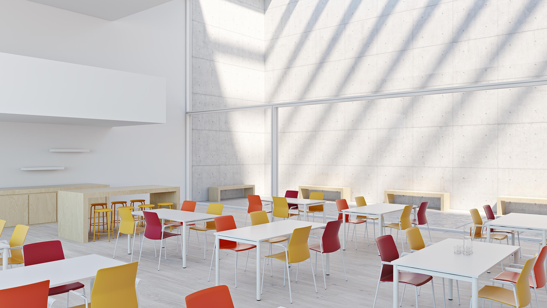 Leia chaises visiteurs mobilier de bureau kinnarps