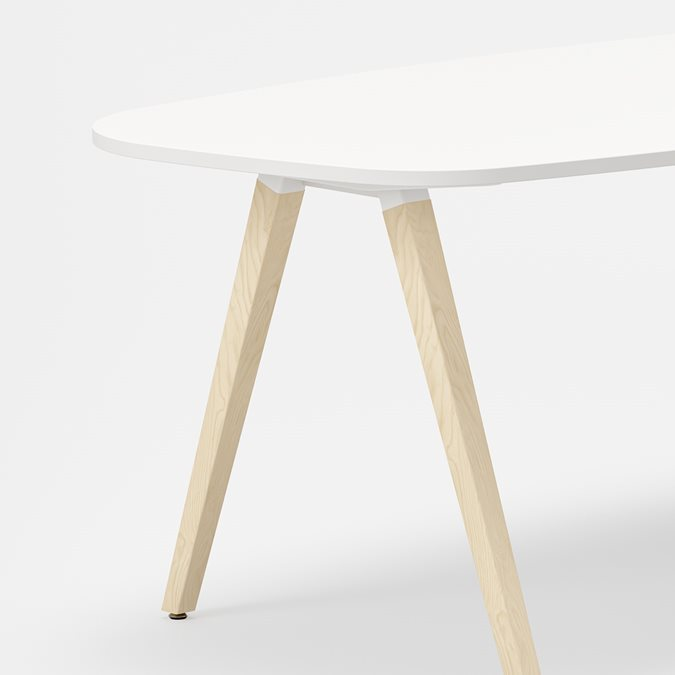 Oberon desk Desks - Office Furniture | Kinnarps