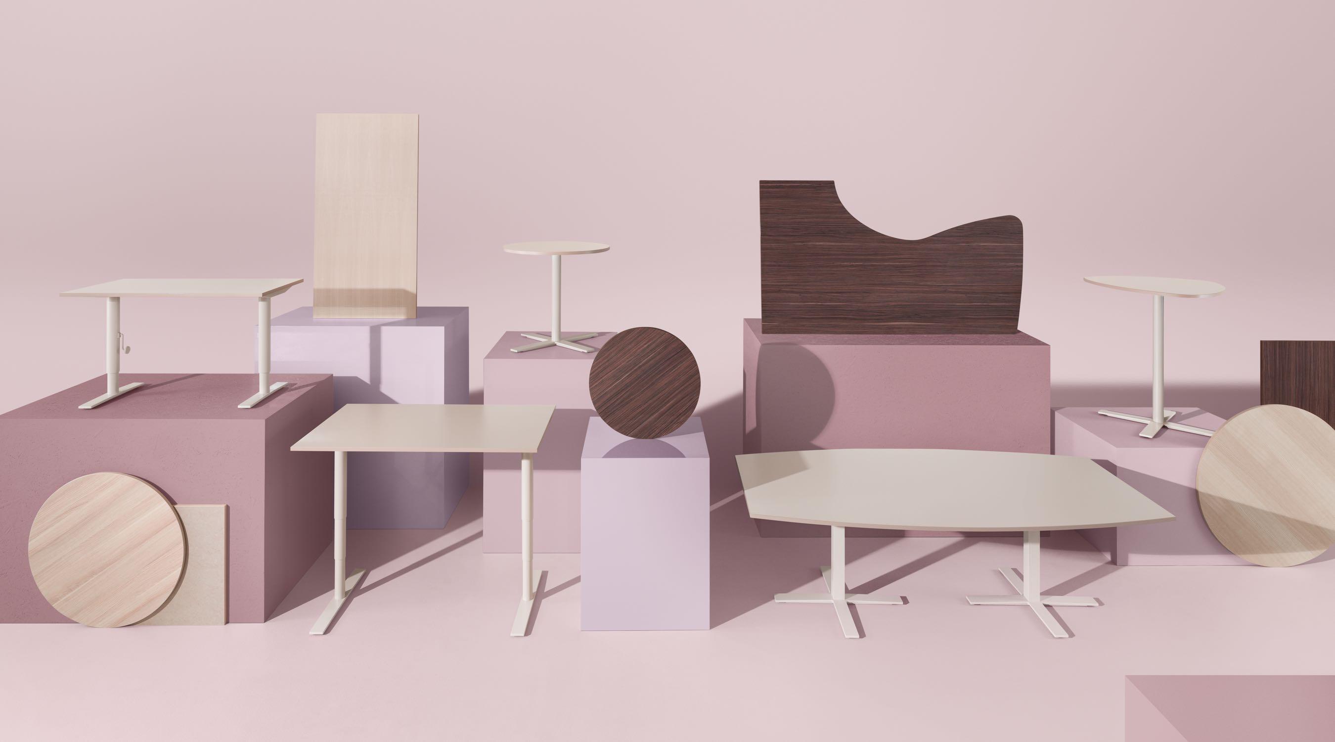 Oberon bureaux mobilier de bureau kinnarps